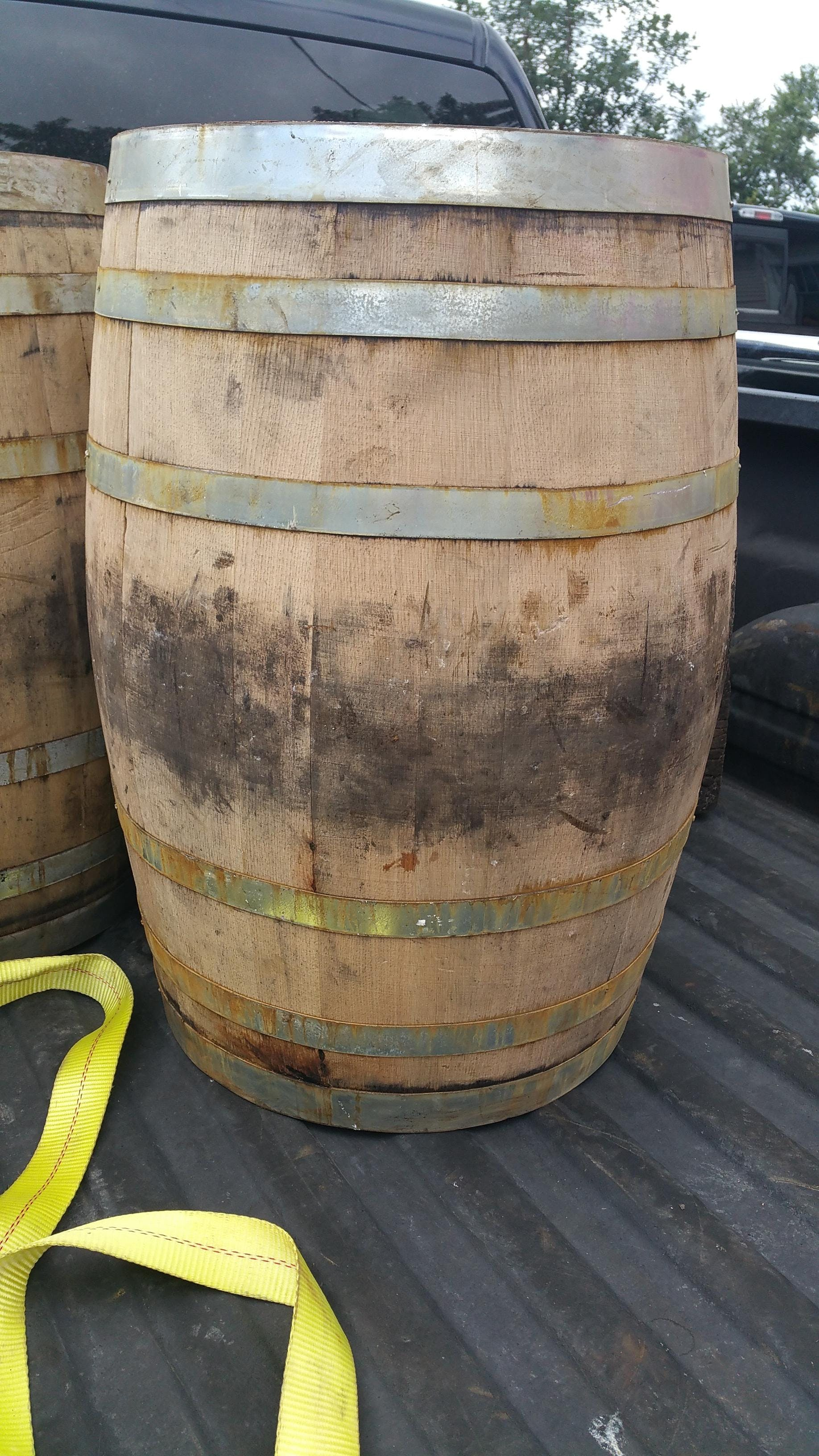 30 Gallon Fresh Dumped Whiskey Barrels Barrel sold by Midwest Barrel Company