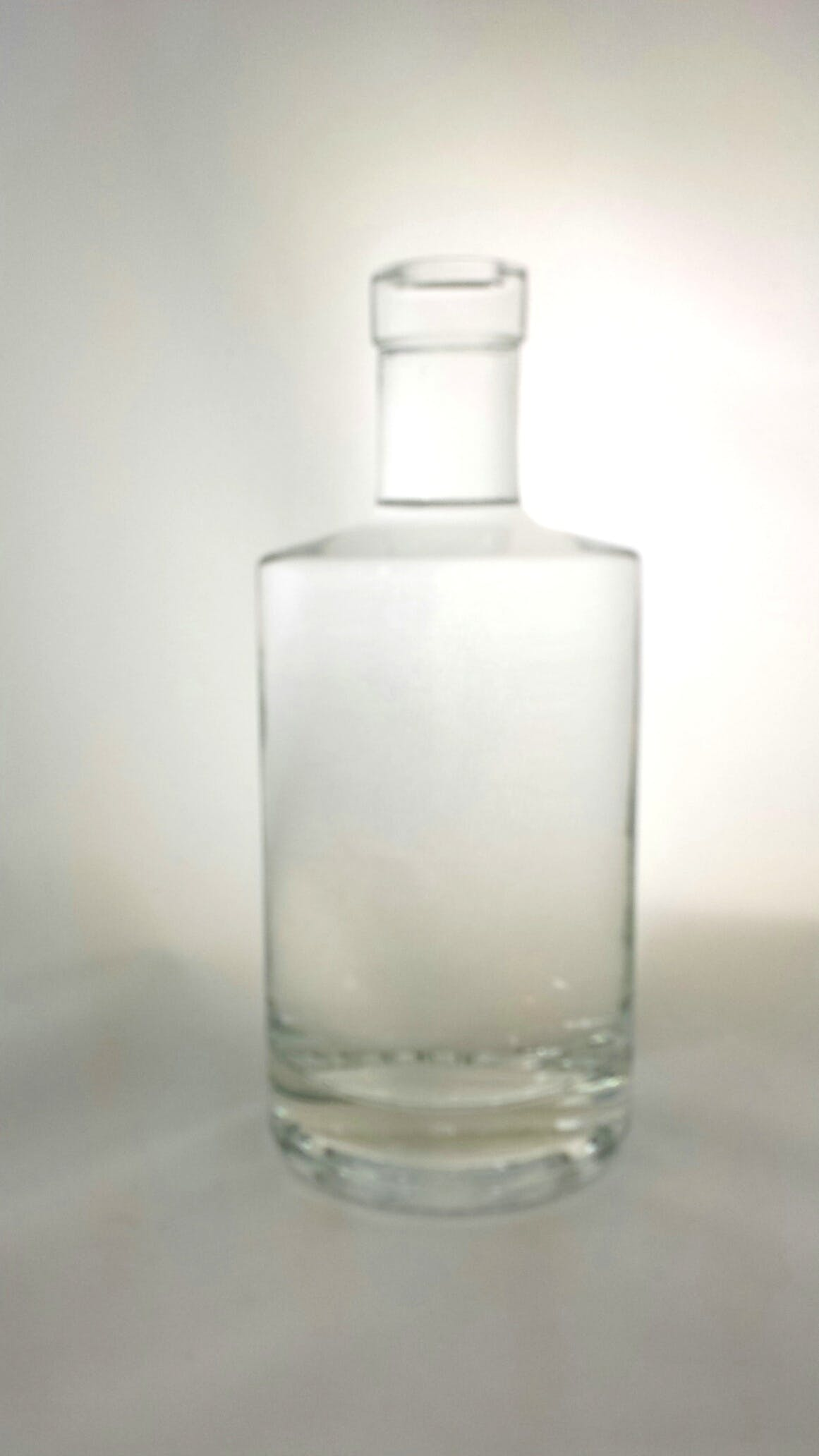 375ml Jersey Round Bar Top Liquor bottle sold by Wm. R. Hill & Company