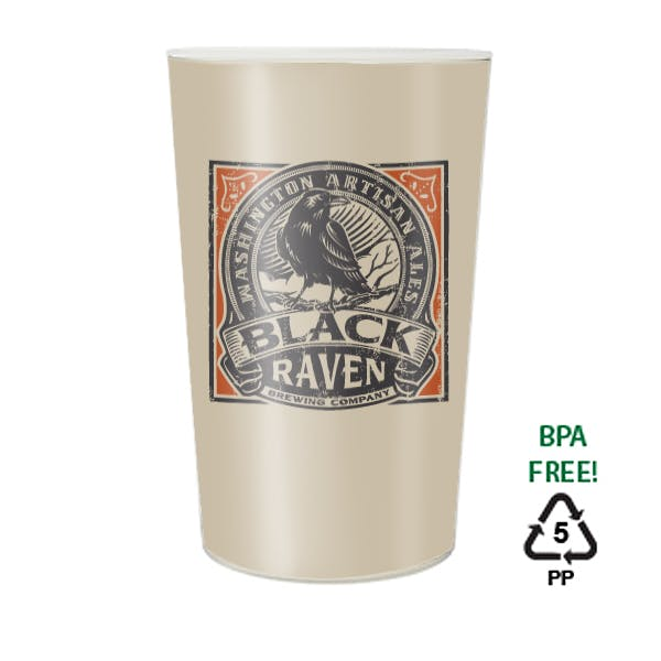16 oz. Maxcolor Stadium Cup Plastic cup sold by MicrobrewMarketing.com