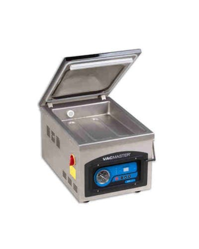 "VACMASTER VP215 CHAMBER VACUUM PACKAGING MACHINE WITH 10"" SEAL BAR Vacuum packaging machine sold by NJ Restaurant Equipment"