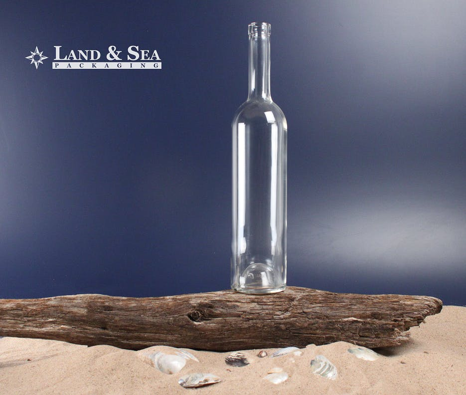 Bellissima Spirit Bottle Liquor bottle sold by Land & Sea Packaging