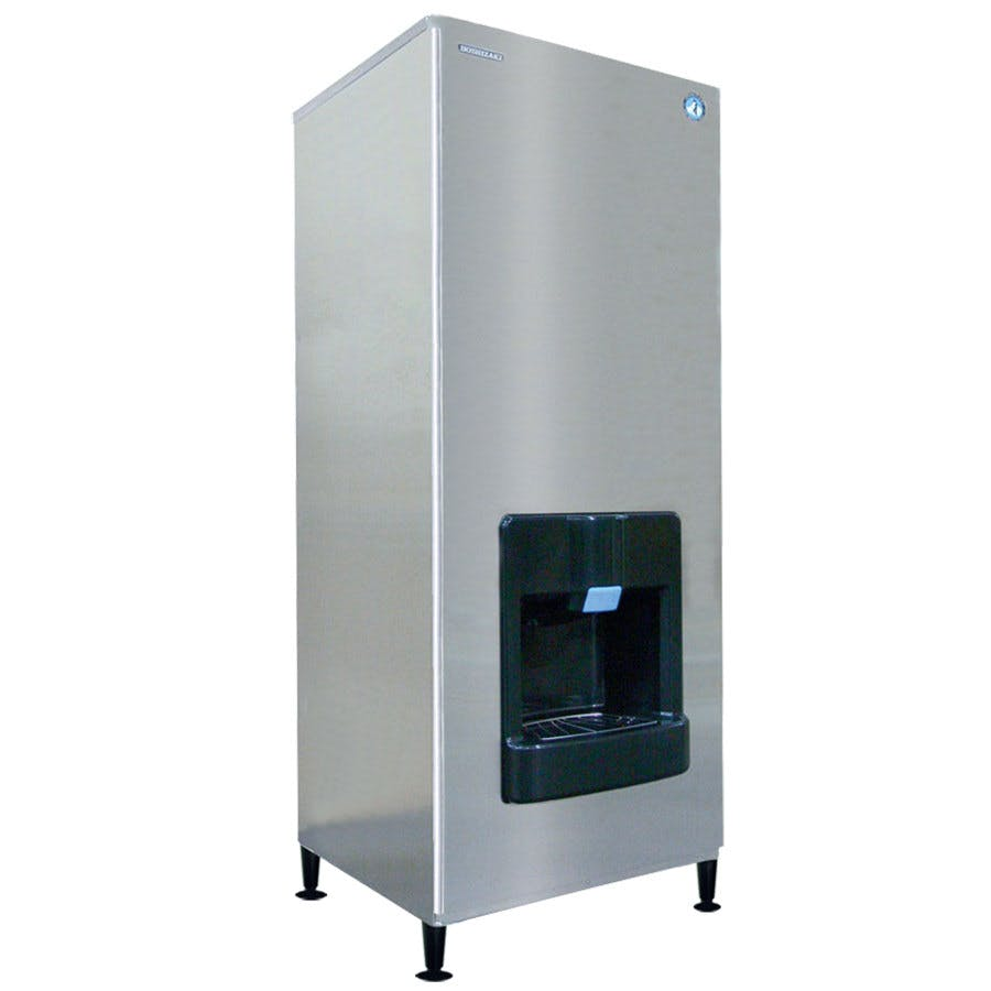 Hoshizaki DKM-500BWH Serenity 455 lb. Ice Machine / Dispenser - Water Cooled Ice machine sold by WebstaurantStore