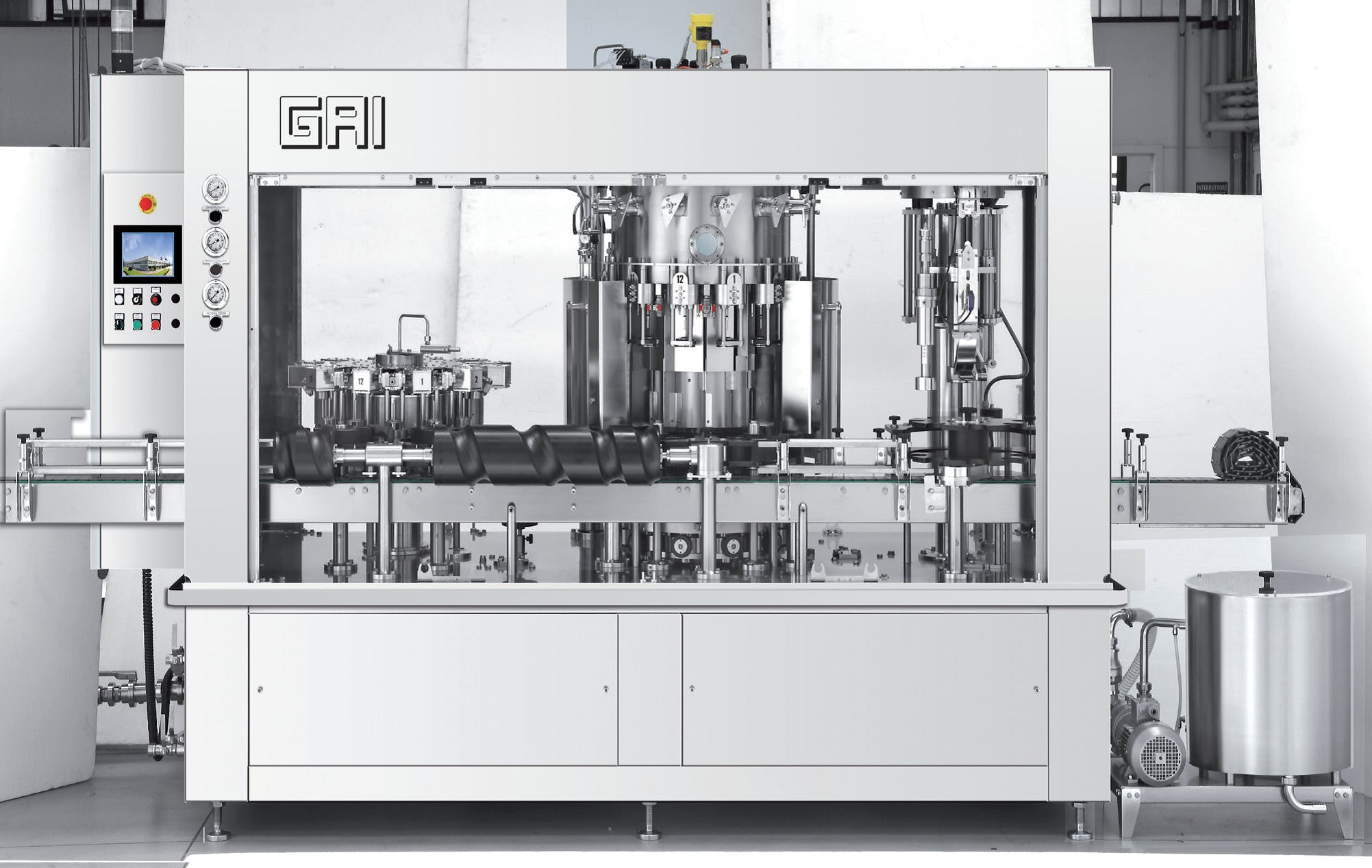 GAI 3003A BIER Bottling machinery sold by Prospero Equipment Corp.