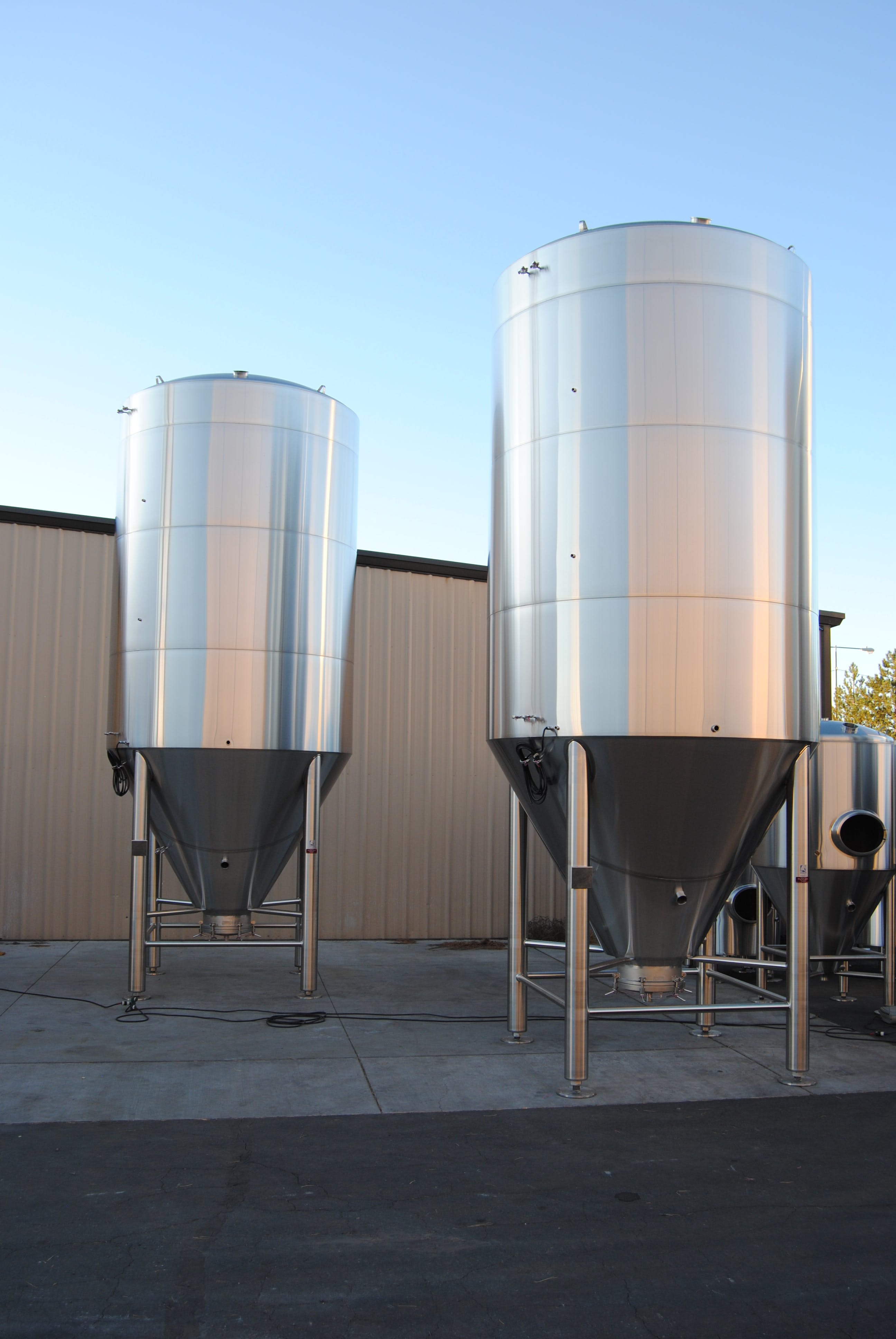 Fermenters, Brite tanks - sold by Silver State Stainless