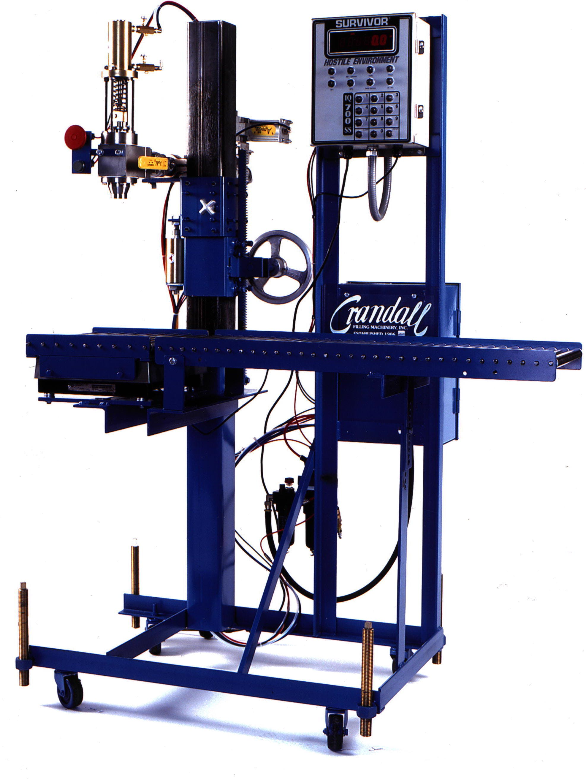 A1/25PEX Bottle filler sold by Crandall Filling Machinery, Inc.