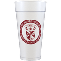 24 oz. Custom Disposable Foam Cups - Disposable cup sold by Cup of Arms