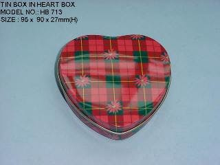 Custom Heart Shaped Tin Boxes  - Custom Tin Packaging, Containers and Specialty Products (Minimum Order Quantity is 5,000 pcs depending upon the size of the tin) - sold by Tin King USA