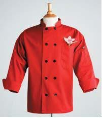 Chef Coats S-3XL - Red