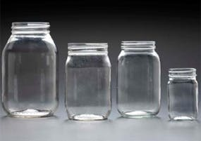 Mayo Jars Glass Jar sold by Kaufman Container