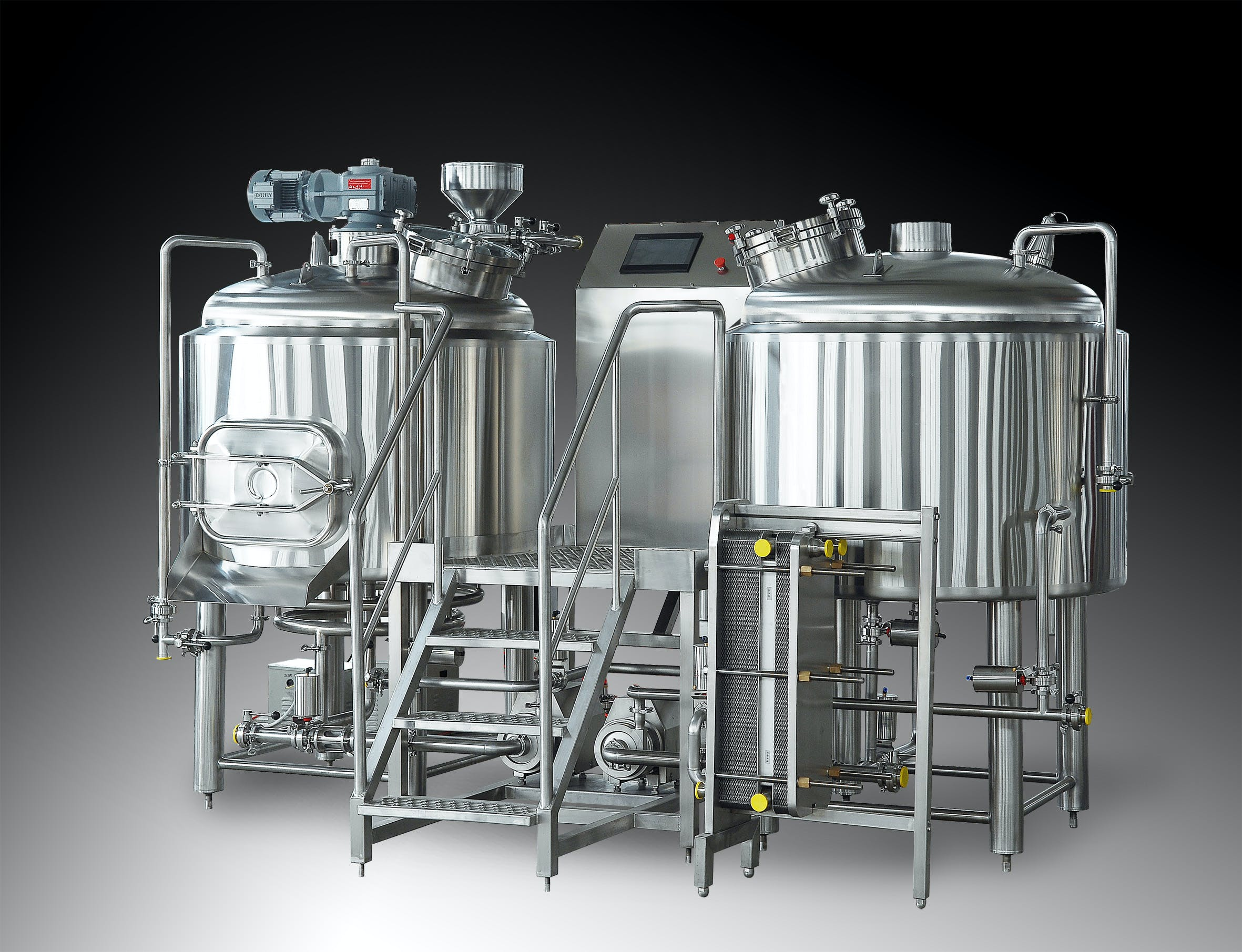 7 BBL Brewhouse - 2 Vessels - Steam Brewhouse sold by TD Tanks, LLC