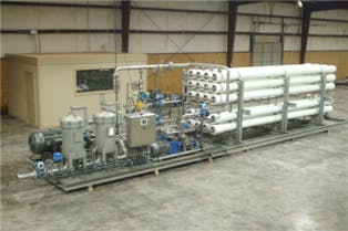 2010 Watec CI250-2 RO System Reverse osmosis system sold by Beverage Industries