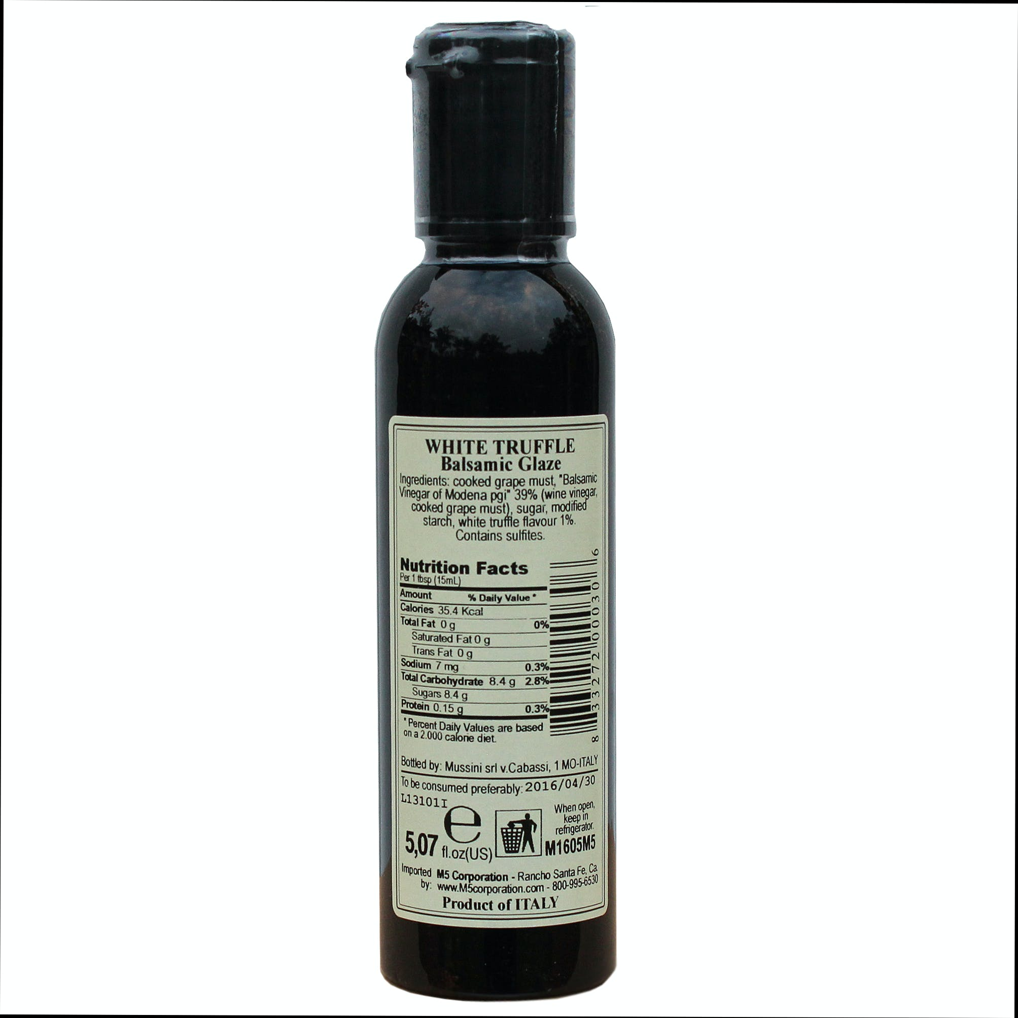 Italian Truffle Balsamic Glazes From Mussini, 5.1 Ounces - sold by M5 Corporation
