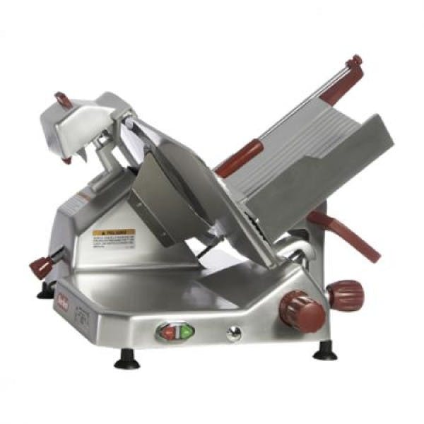 "14"" Manual Meat Slicer w/ Built-In Sharpener - BER829A-PLUS"
