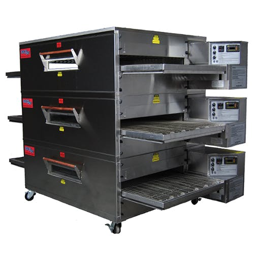 EDGE 60 Series Triple-Stack Gas Conveyor Pizza Oven Commercial oven sold by Pizza Solutions