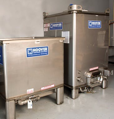 Multi-Use Distillery Bin Brewery tank sold by Hoover Container Solutions