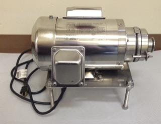 Transfer Pump: 1HP Ben Anderson Style Sanitary pump sold by Bob-White Systems
