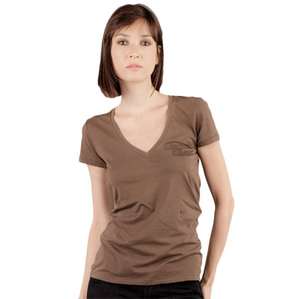 Alternative Ladies 3.5 oz. Short-Sleeve V-Neck Promotional shirt sold by MicrobrewMarketing.com