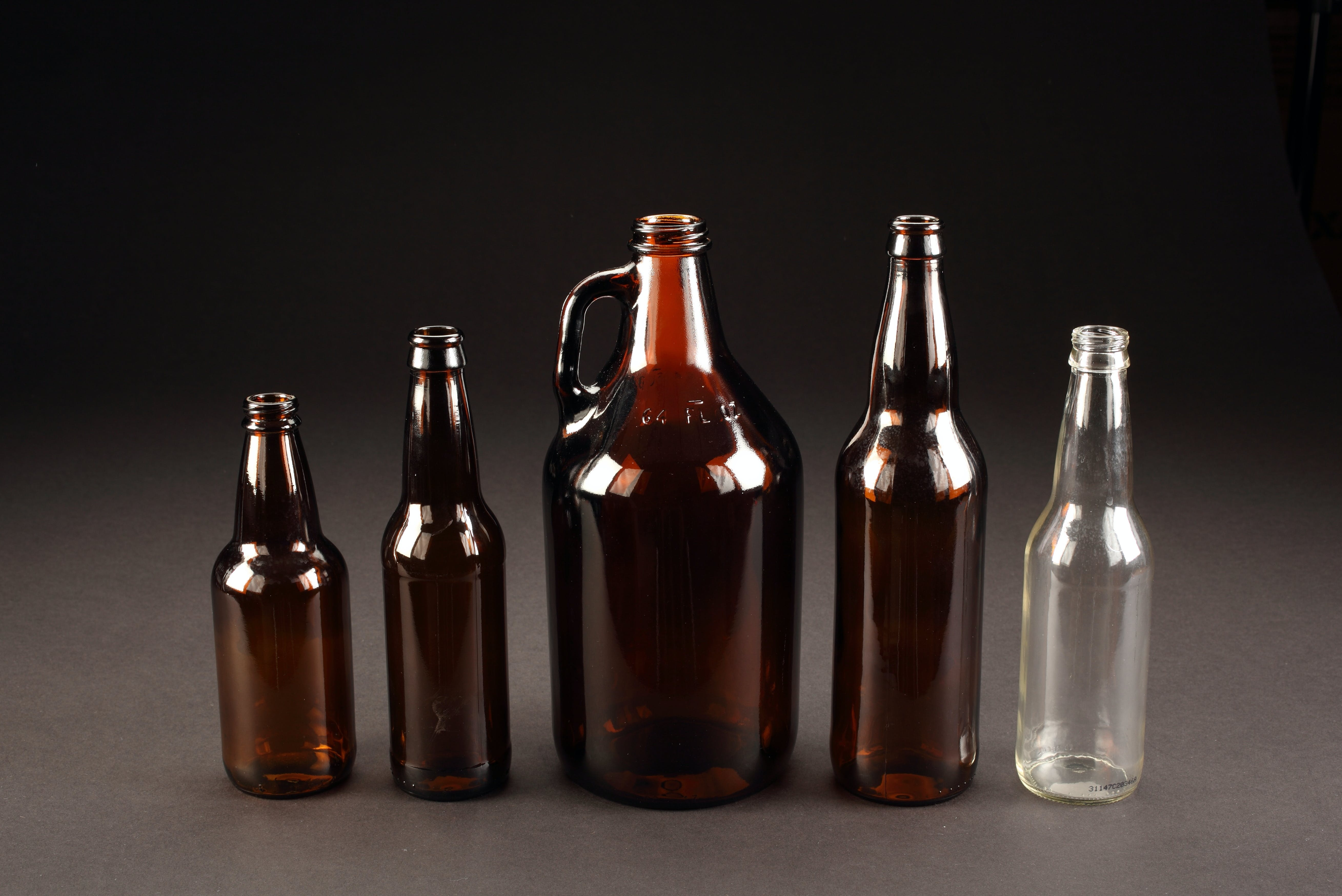 Beer Bottles Beer bottle sold by WB Bottle Supply Company
