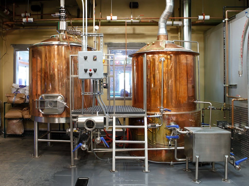 10BBL Copper Brewhouse  Brewhouse sold by Global Stainless Systems Inc.