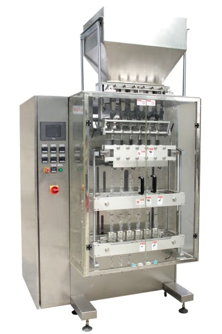 Vertical Filler and Sealer 480-6 Bottle filler sold by MSM Packaging Solutions