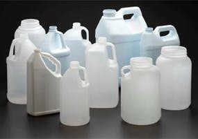 HDPE Gallon Bottles Plastic bottle sold by Kaufman Container