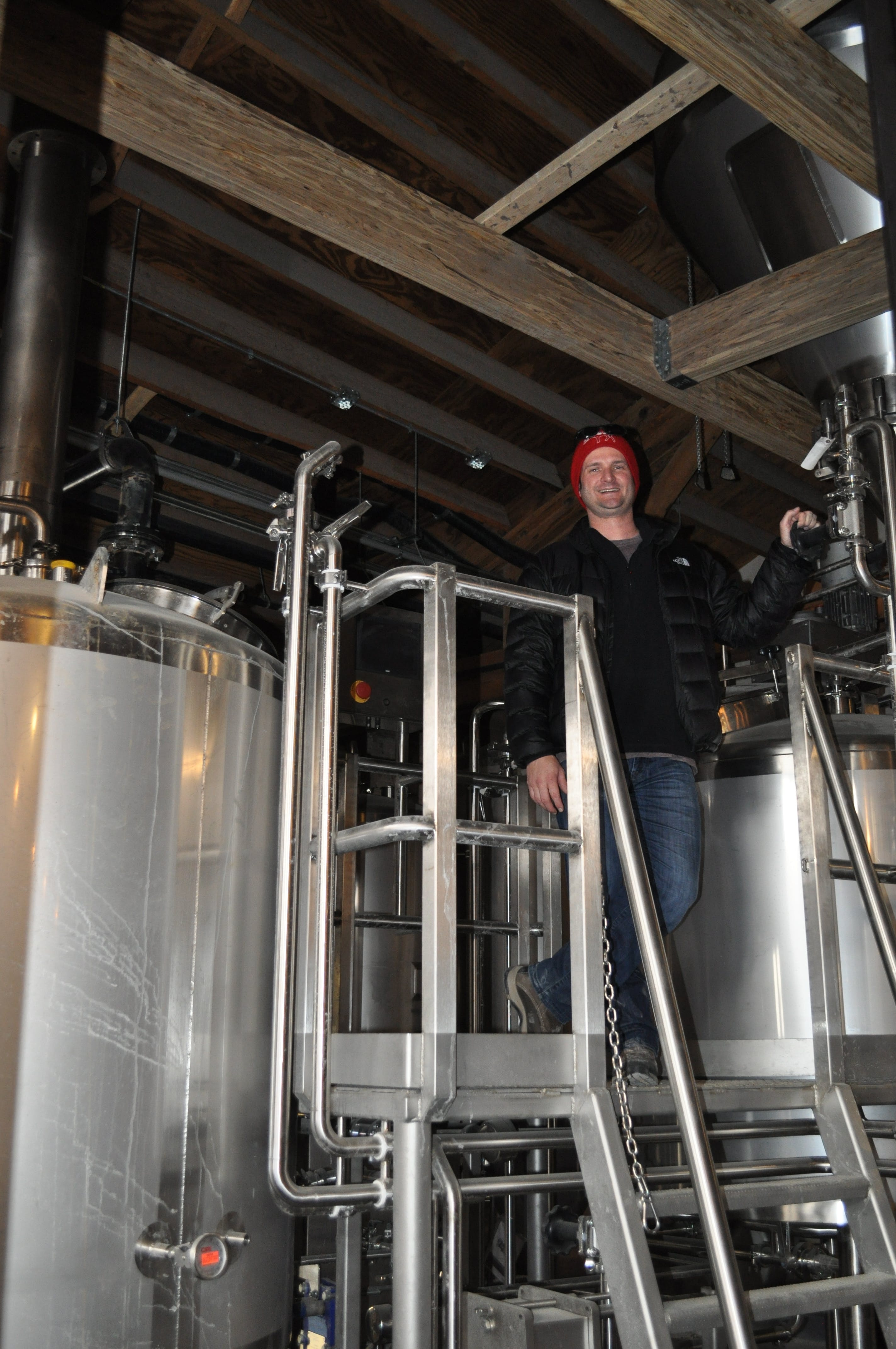 10 BBL Brewhouse Brewhouse sold by W. M. Sprinkman