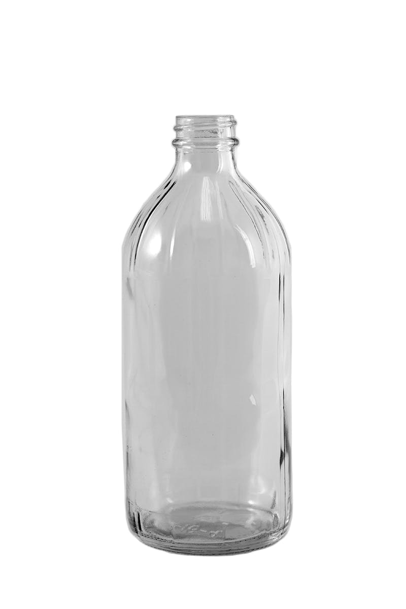VINEGAR / BEVERAGE BOTTLES Glass bottle sold by Packaging Support Group