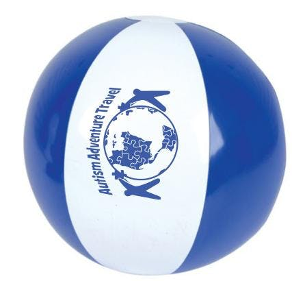 Beach Balls of all types and sizes.  Promotional product sold by Lee Marketing Group