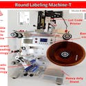 Round Labeling Machine-T #080101034357