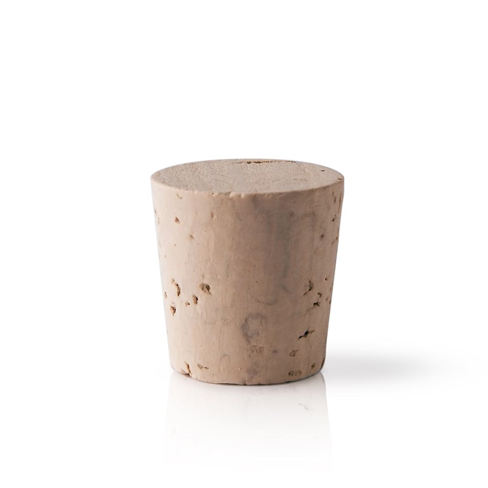 #14 Natural Tapered Cork Cork sold by Packaging Options Direct