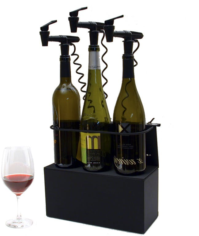 Elevated Z bases Wine dispensing tap sold by NitroTap Ltd.