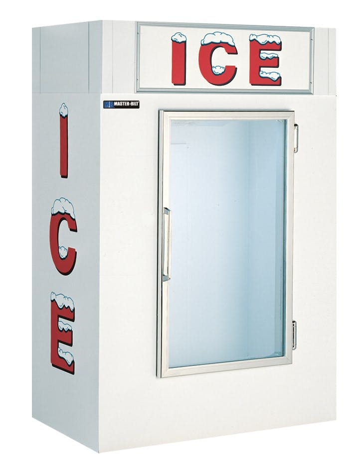 Master-Bilt Indoor Ice Merchandiser/Freezer Commercial freezer sold by pizzaovens.com