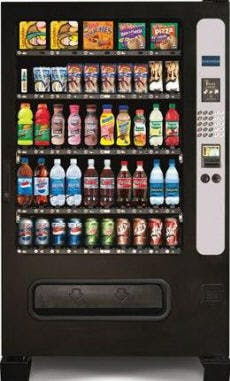 Chill Center 5-Wide Vending machine sold by Vendors North Carolina