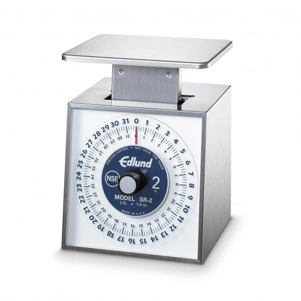 32 oz. x 1/4 oz. Stainless Mechanical Portion Control Scale