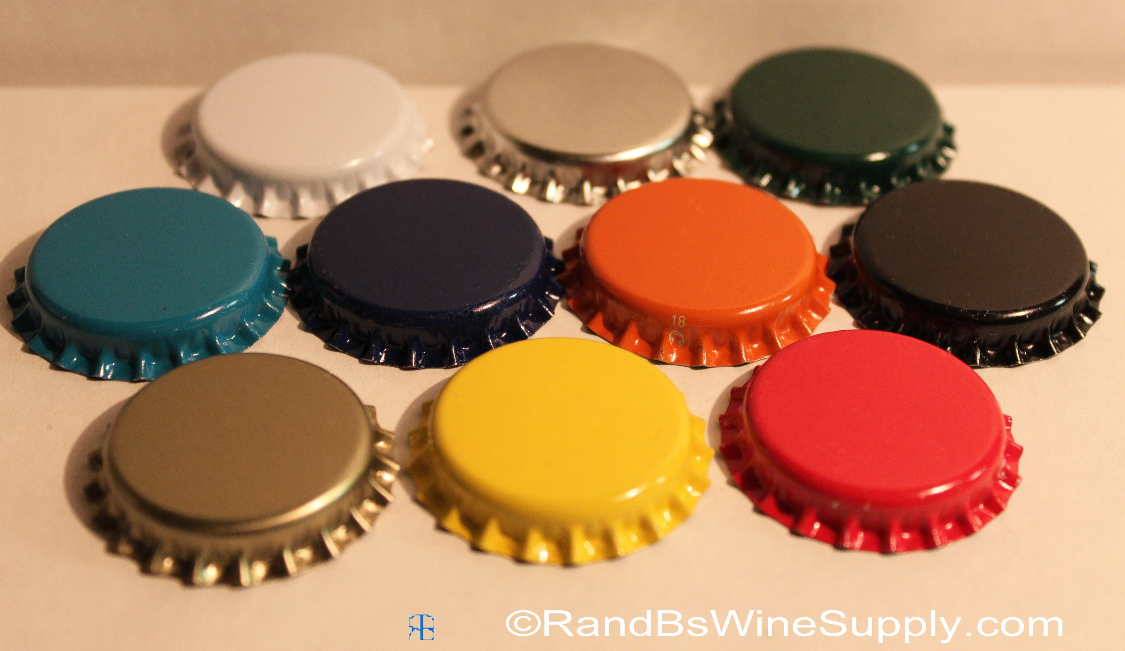 Crown Bottle Caps Bottle cap sold by R and B's Wine Supply