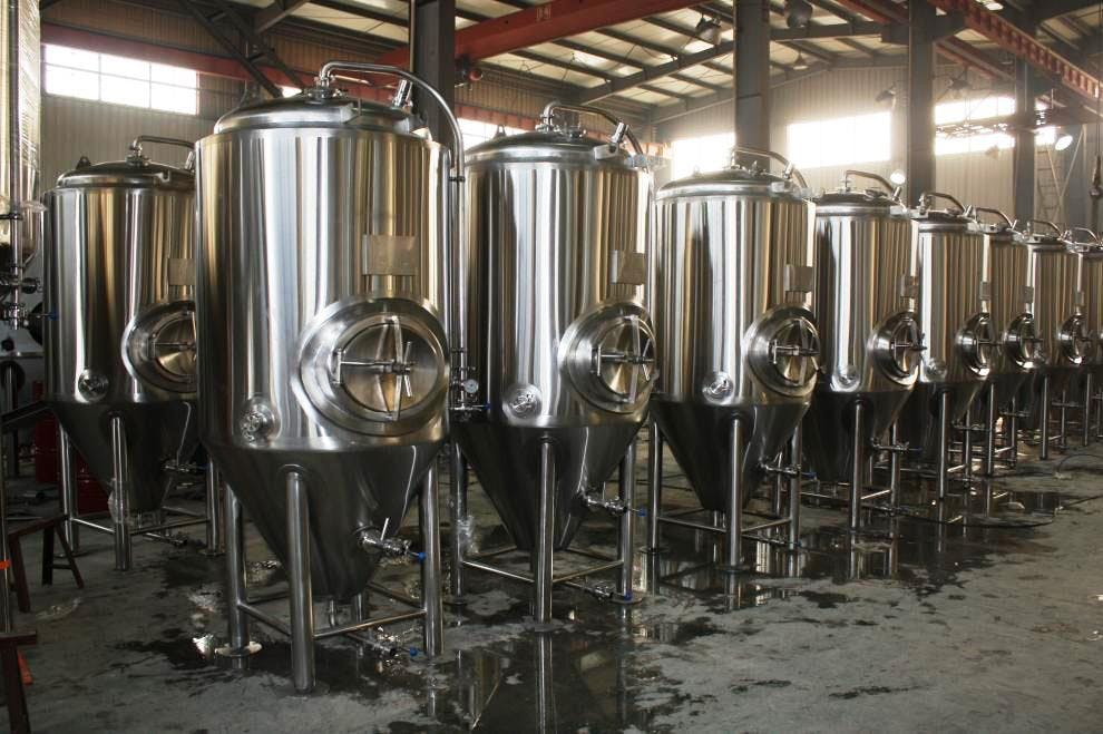 20 BBL F.V. Conicals Fermenter sold by Prettech Canada