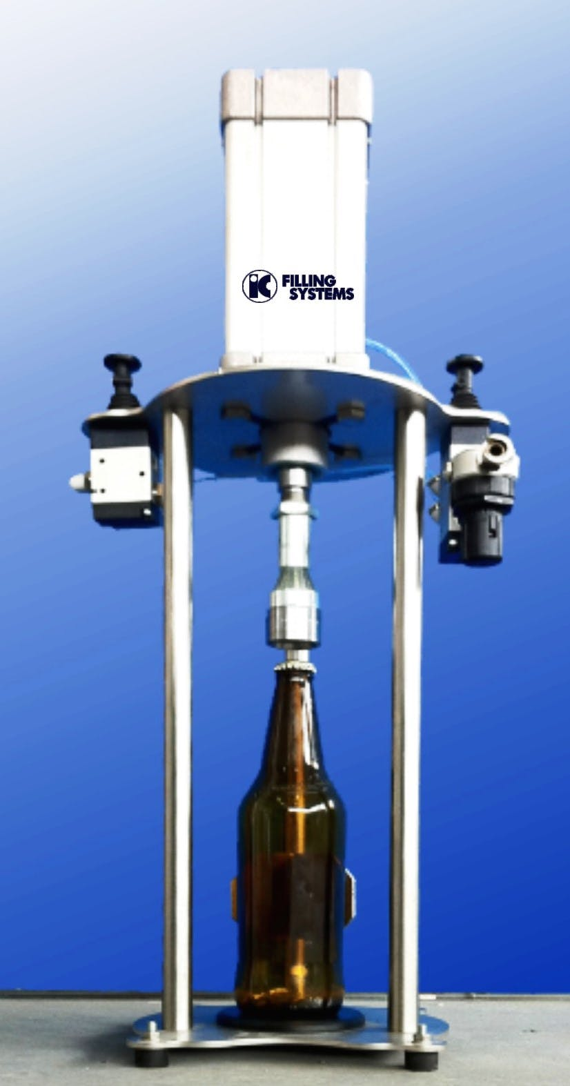 Semi-auto capper for crown caps - Semi Auto ROPP Capping Machines - sold by IC Filling Systems