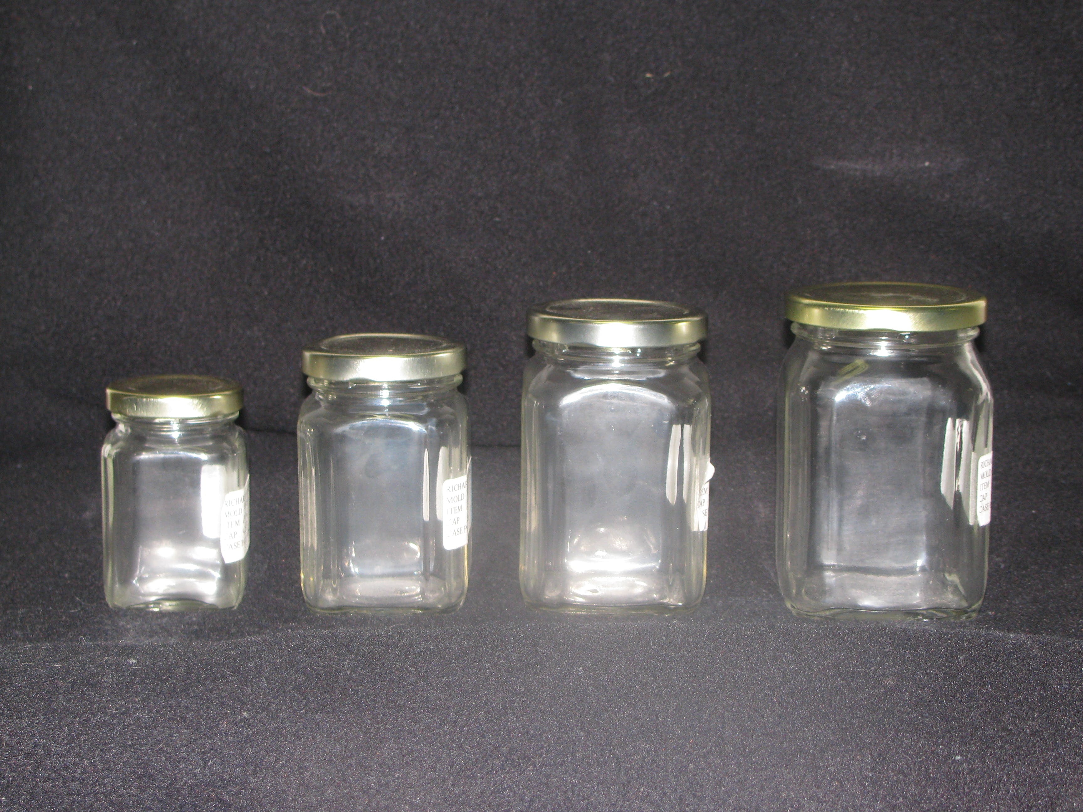 Victorian Jars Glass Jar sold by Richards Packaging, Inc