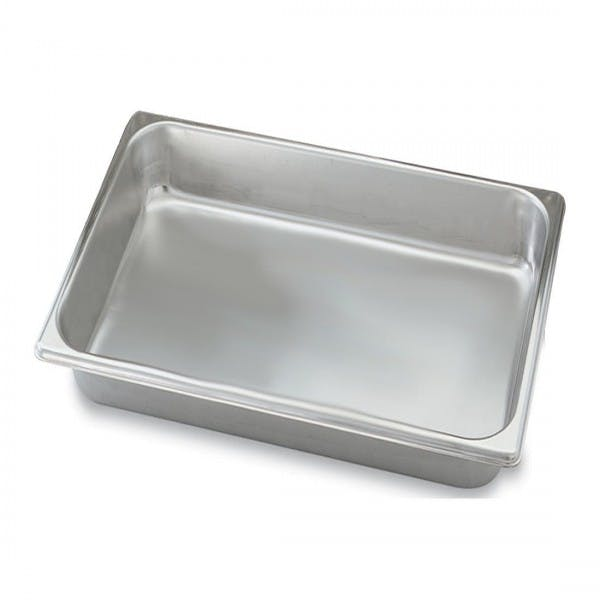 """6"""" Deep Full Size Stainless Steam Table Pan - VOL20069"""