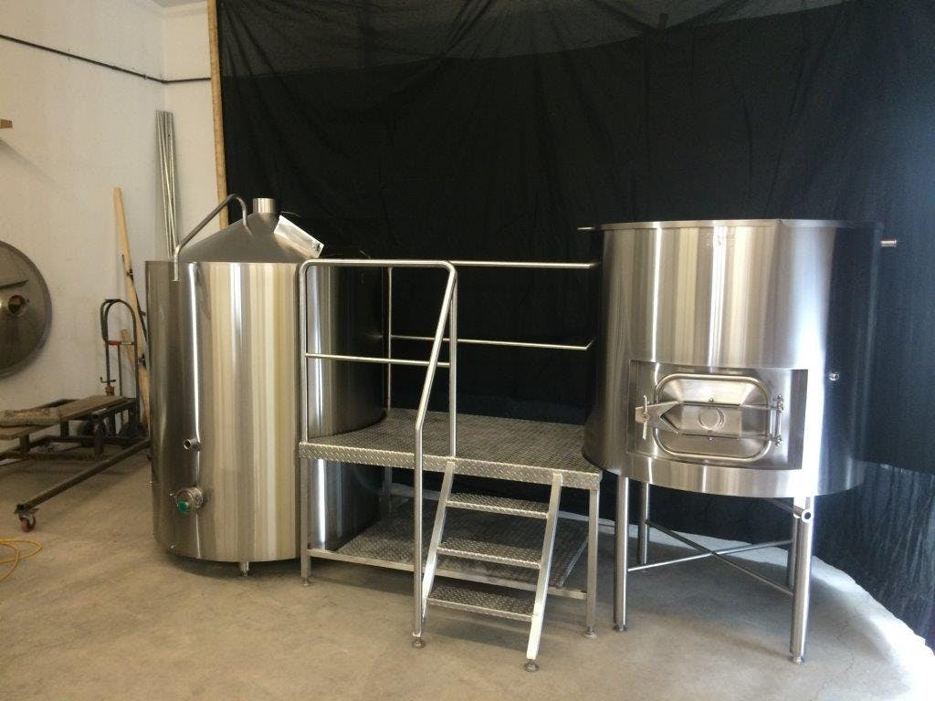 Bennett Forgeworks Equipment Brewhouse sold by Bennett Forgeworks