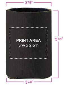 45081 Collapsible Can Koozies Koozie sold by Grandstand Glassware and Apparel