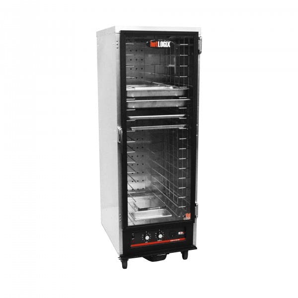 """71"""" Heated Holding & Proofing Cabinet w/ Fixed Slides"""