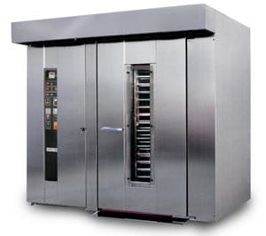EMPIRE Model LFR2G Double Rack Oven Commercial oven sold by Bakery Equipment.com