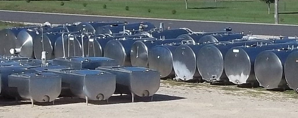 All Stainless Steel Farm Tanks Dairy tank sold by Schier Company, Inc.