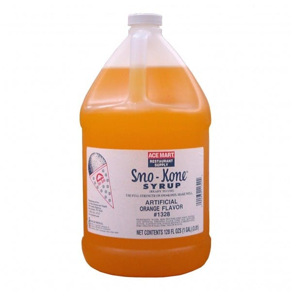 1 gal. Orange Snow Cone Syrup