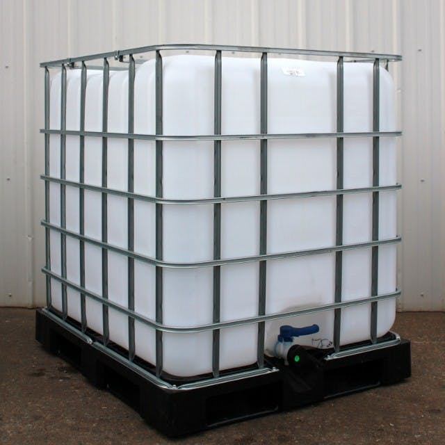 275 gallon IBC Tote, Food Grade, Steam Cleaned