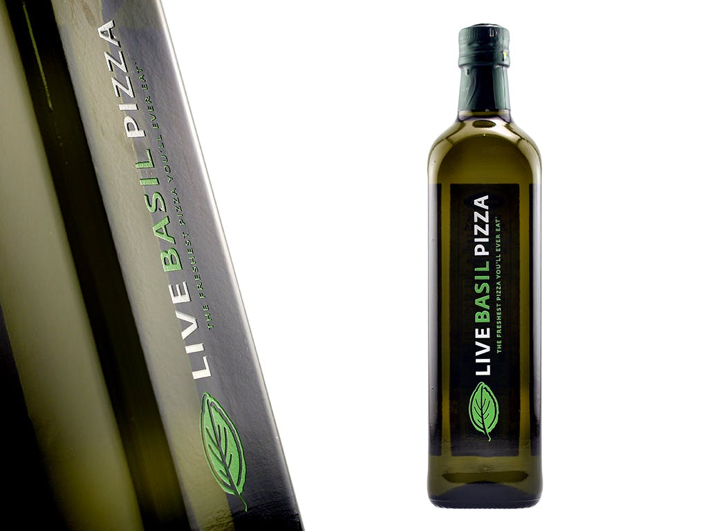 Custom Decorated Olive Oil bottle.  - Custom Etched Olive Oil and Balsamic Vinegar - sold by Etching Expressions