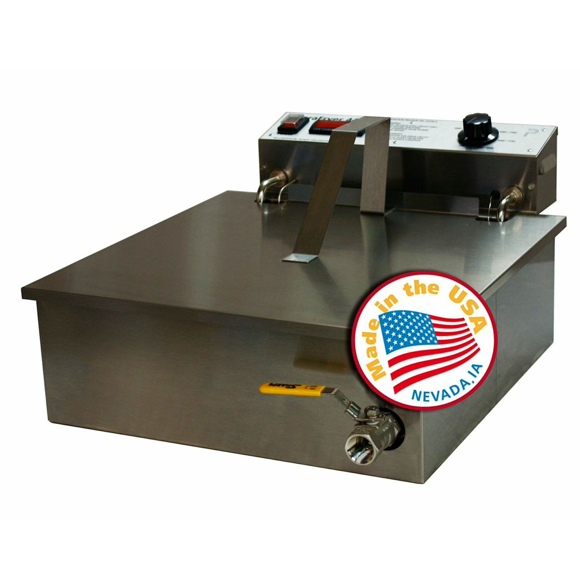 Paragon 9020 ParaFryer 4400 Funnel Cake Fryer Commercial fryer sold by Mission Restaurant Supply