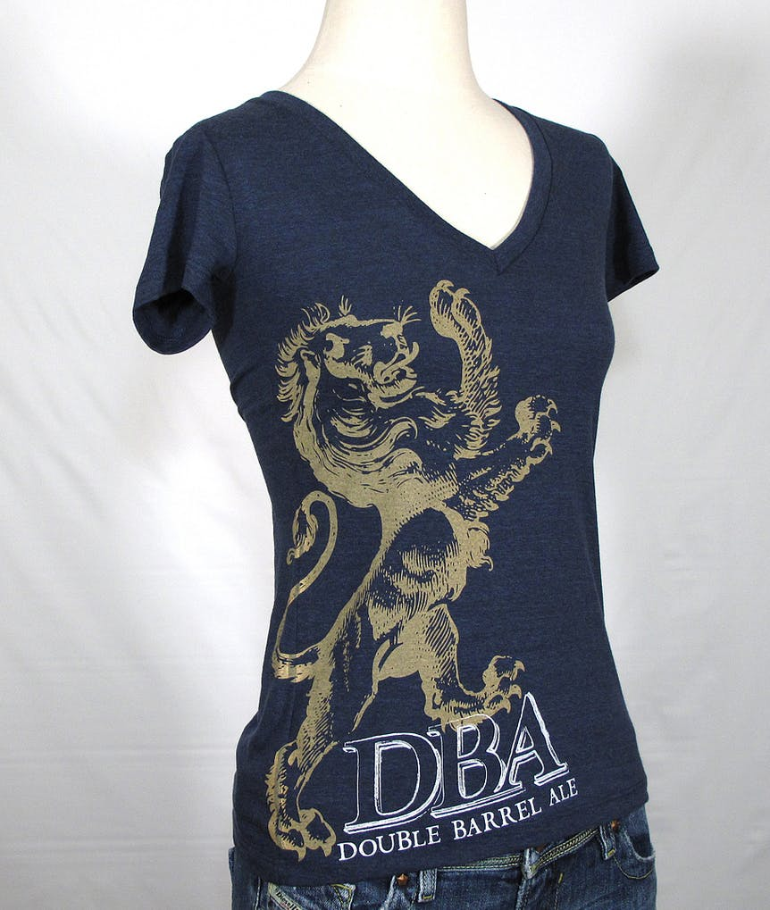 LADIES deep V blended tee - Firestone Walker DBA Promotional shirt sold by Brewery Outfitters