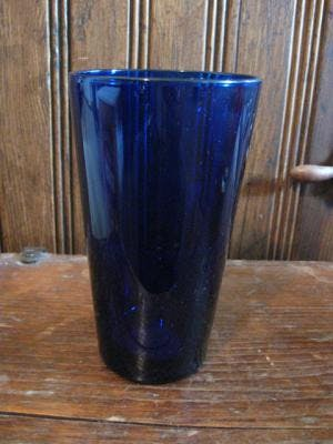 16 oz. Blue Glass Mixer/Pint Glass Beer glass sold by Promotional Concepts of Wisconsin